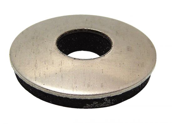 Washer with epdm gasket - stainless steel a2 inox a2