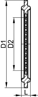 Joint clamp filtrant - FPM